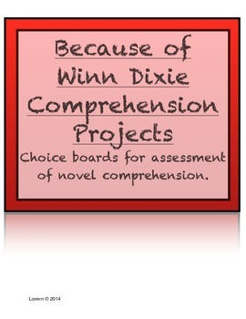 Because of Winn Dixie Student Choice Projects