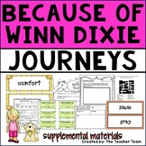 Because of Winn Dixie Journeys Fourth Grade Unit 1 Lesson 1 Activities