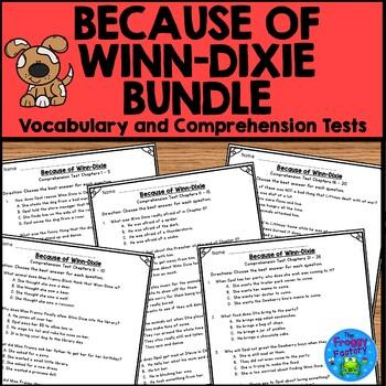 Because of Winn Dixie Test Bundle