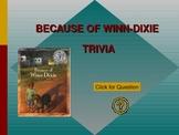 Because of Winn-Dixie Trivia Game