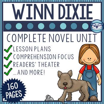 Because of Winn Dixie Unit Bundle - Print & Teach!!!