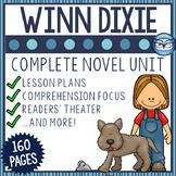 Because of Winn Dixie Novel Study Unit Grades 3-5
