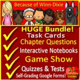 Because of Winn Dixie Novel Study Print AND Google™ Paperless w/ Self-Grading