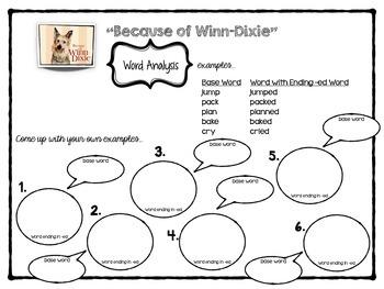 Because of Winn Dixie Unit plan - {Reading Street - Scott Foresmant}