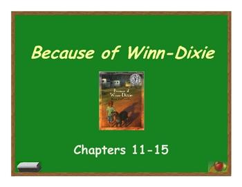 Because of Winn-Dixie Vocabulary #2