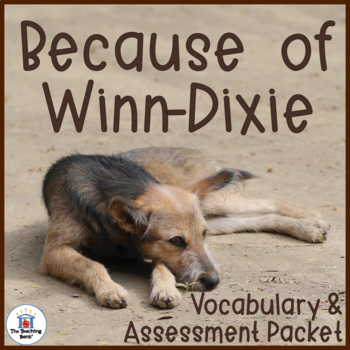Because of Winn-Dixie Vocabulary and Assessment Bundle