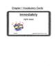 Because of Winn-Dixie Vocabulary Cards