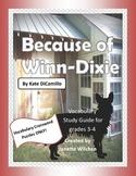Because of Winn-Dixie Vocabulary Crossword Puzzles