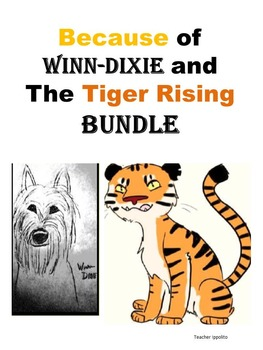 Because of Winn-Dixie and Tiger Rising BUNDLE!!