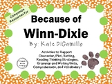 Because of Winn-Dixie by Kate DiCamillo: A Complete Novel Study!