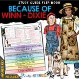 BECAUSE OF WINN-DIXIE NOVEL STUDY LITERATURE GUIDE FLIP BOOK