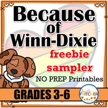 Because of Winn-Dixie {freebie sampler}