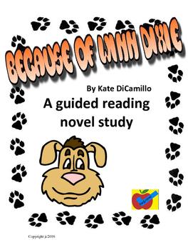 Because of Winn Dixie guided reading novel study