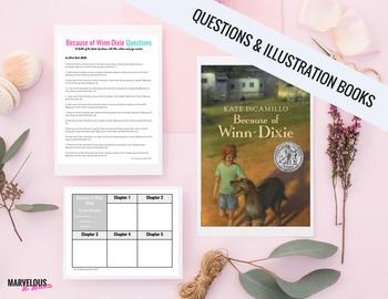 Because of Winn Dixie:95 Literal Questions & Read Aloud Handouts