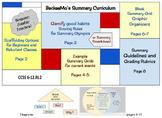 BeckeeMo's Summary Curriculum