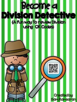 Become a Division Detective {QR CODES}