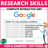 How to use GOOGLE SEARCH like a BOSS!! (Research Skills &