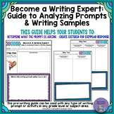 Become a Writing Expert: Analyzing Prompts and Writing Samples