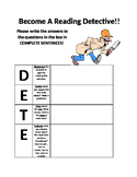Become a reading DETECTIVE!!