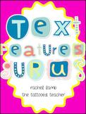 Become an Expert! Text Features Gurus Pack