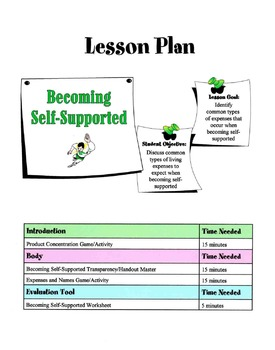 Becoming A Self-Supported Individual Lesson