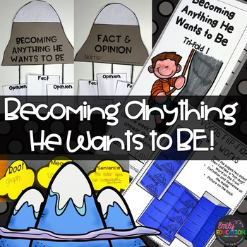 Becoming Anything He Wants to Be Journeys 3rd Grade Lesson 28