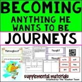 Becoming Anything He Wants to Be Journeys 3rd Grade Unit 6 Lesson 28 Activities
