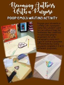 Becoming Authors with a Purpose: Poop Emoji Writing Activity