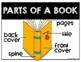 Becoming Book Experts Parts of a Book Kindergarten & First Grade ELA