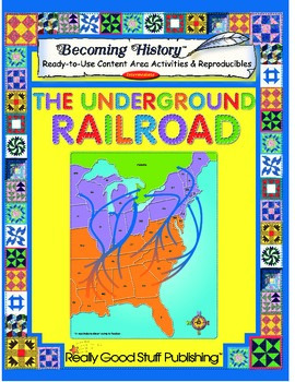 Becoming History™: Underground Railroad Book