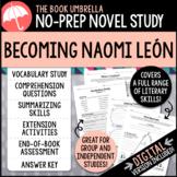 Becoming Naomi León Novel Study