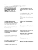 Becoming Naomi Leon: Active Reading Worksheet for Chapter 2 and Chapter 3