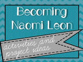 Becoming Naomi Leon by Pam Munoz Ryan - Activities & Project Ideas