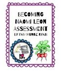 Becoming Naomi Leon Book Assessment