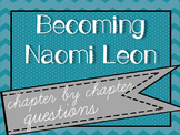 Becoming Naomi Leon by Pam Munoz Ryan - Chapter Questions