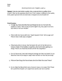 Becoming Naomi Leon: Chapters 13 and 14 Active Reading Worksheet