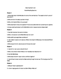 Becoming Naomi Leon Guided Reading Questions