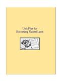 Becoming Naomi Leon Literature and Grammar Unit