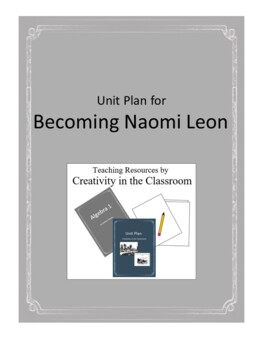 Becoming Naomi Leon Novel Unit Plus Grammar