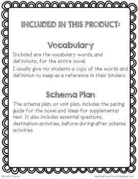 Becoming Naomi Leon {Vocabulary & Unit Plan}