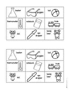 Becoming Scientists: Sorting Science Tools in Kindergarten and First Grade