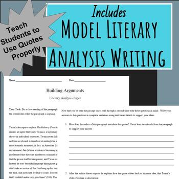 Becoming a Critic Literary Analysis Independent Reading Project