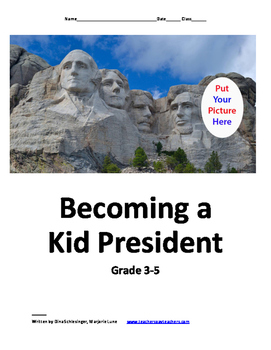 Becoming a Kid President: Grade 3-5