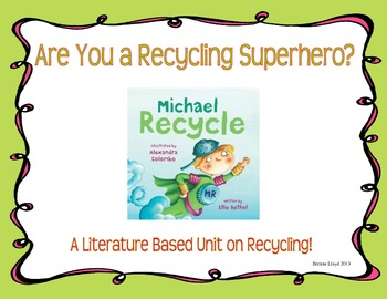 Becoming a Recycling Superhero