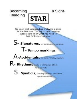 Becoming a Sight-Reading Star