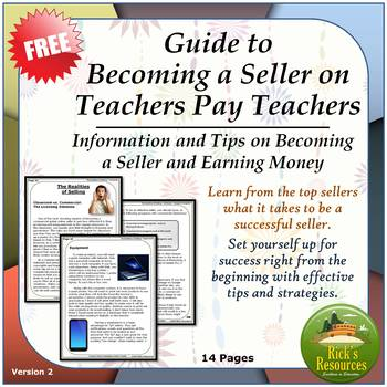 Guide to Becoming a Seller on Teachers Pay Teachers - Tips and Strategies