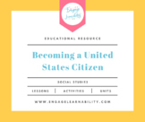 Becoming a United States Citizen - Civics / US Government PPT Lesson