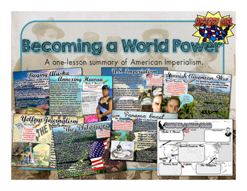 Becoming a World Power: PowerPoint and Student Infographic Notes