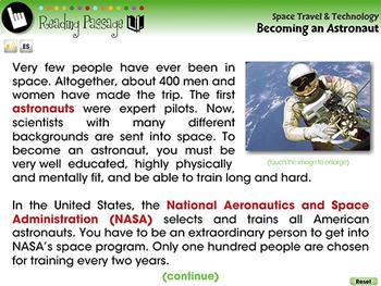 Becoming an Astronaut - MAC Gr. 5-8