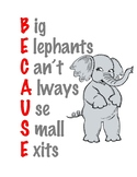 Becuase Spelling Poster